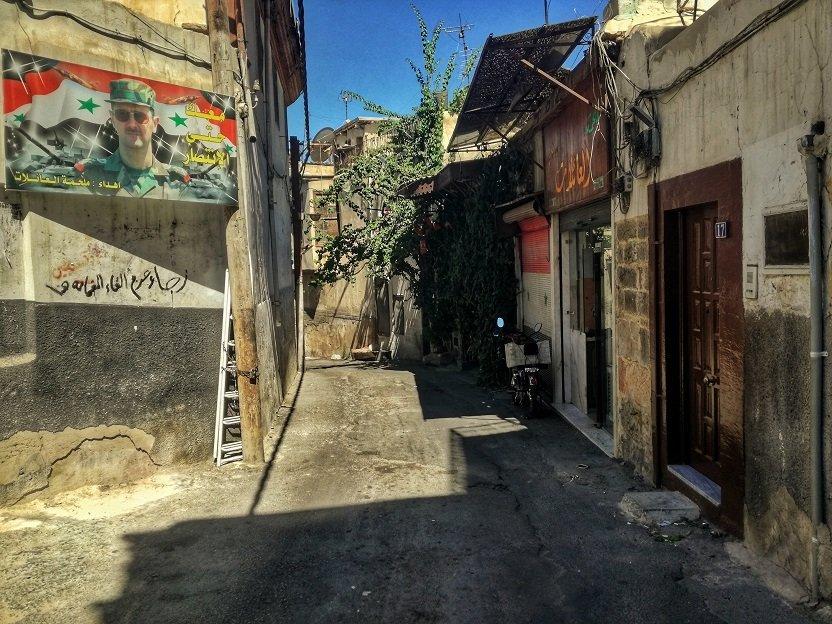 Les rues de Damas