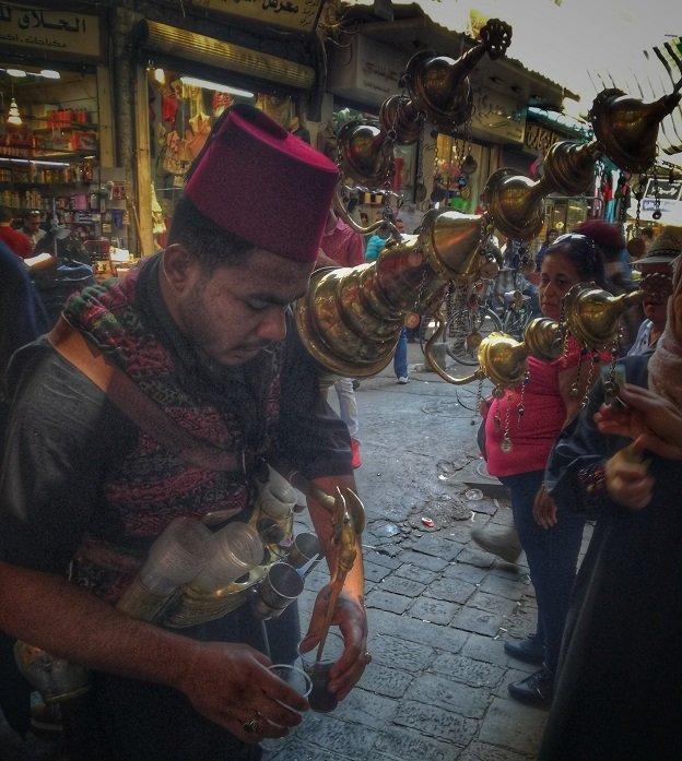 Un souk à Damas