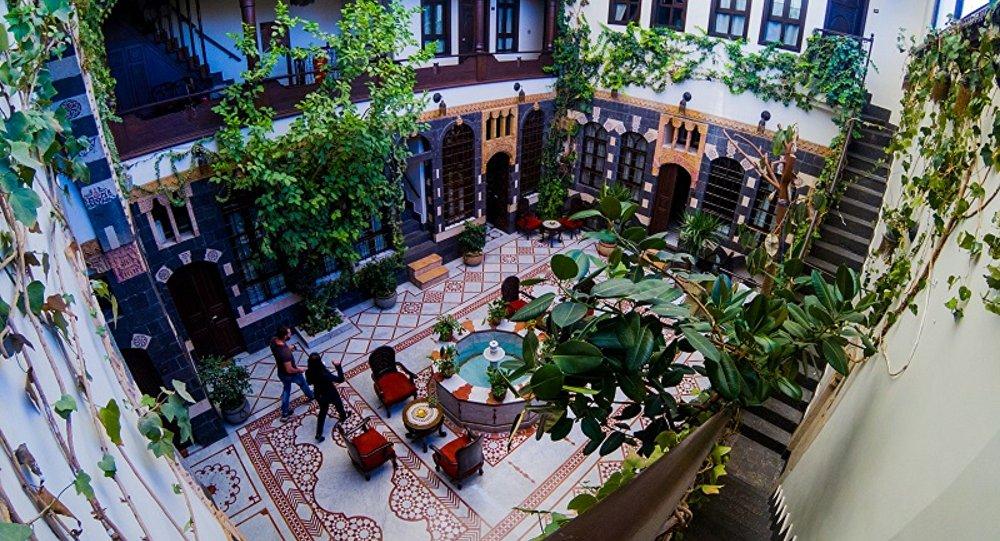 Un hôtel à Damas