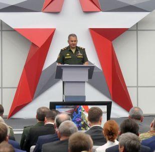 Le ministre russe de la Défense, Sergueï Choïgou. Photo d'archive