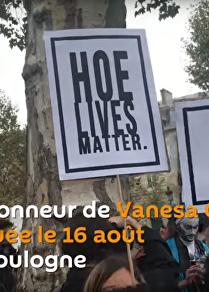 Marche pour Vanesa Campos, prostituée tuée au bois de Boulogne