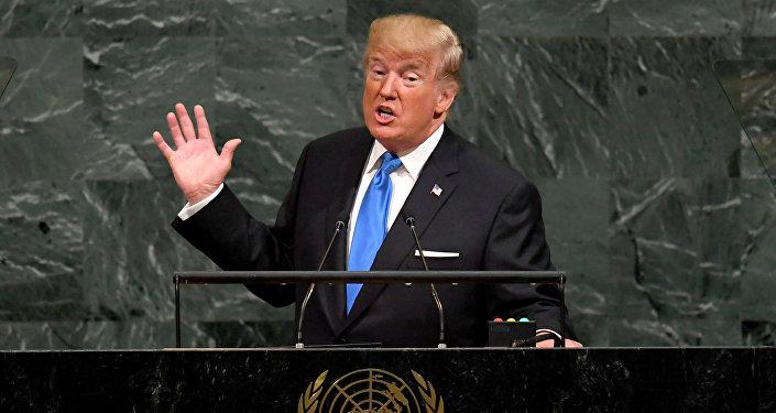 Donald Trump à la tribune de l'Assemblée générale de l'Onu