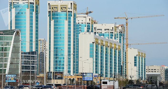 Astana, la capitale du Kazakhstan