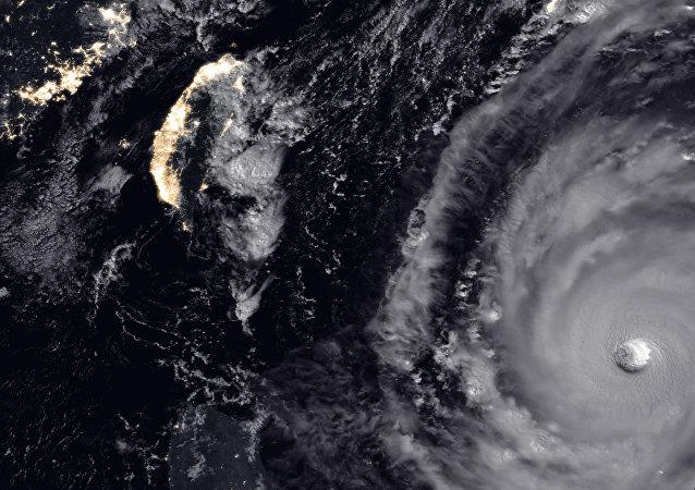 l'ouragan dévastateur Trami