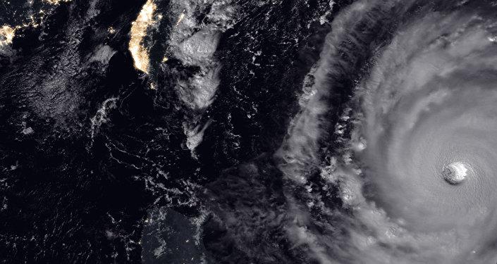NASA super Typhoon Trami