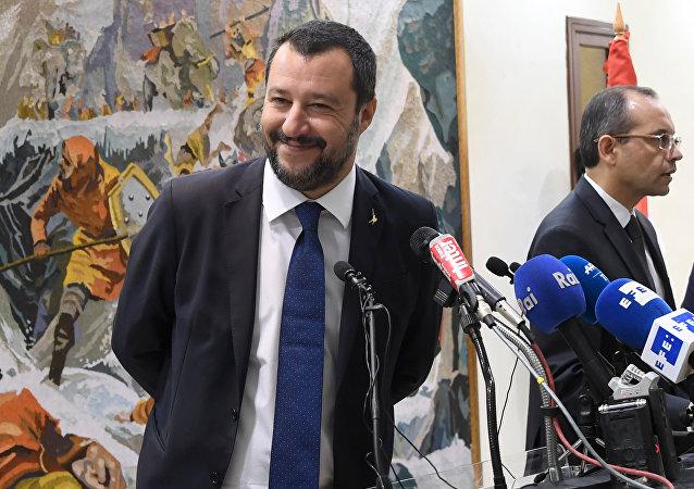 Matteo Salvini en Tunisie
