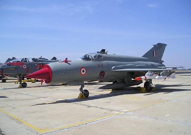 Indian Air Force MiG-21. (File)