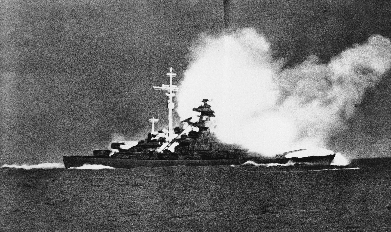 Le croiseur de ligne allemand Bismarck