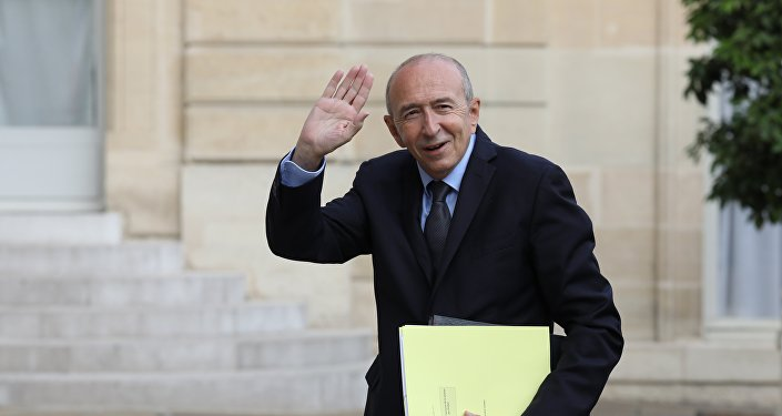 Gerard Collomb. Photo d'archive
