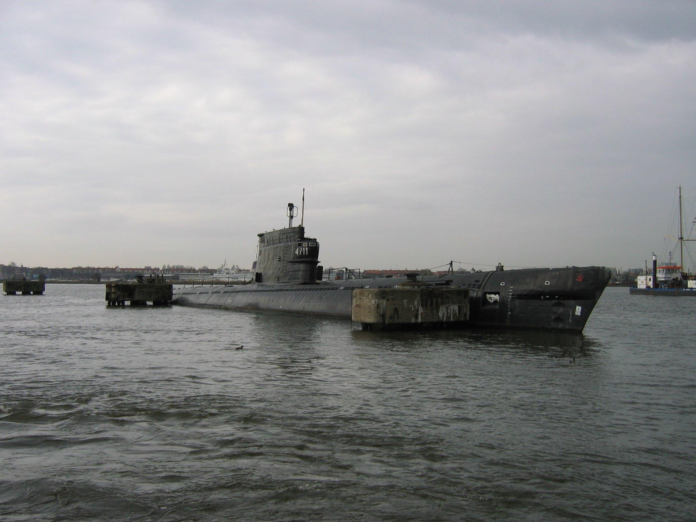 Un sous-marin soviétique du projet 611