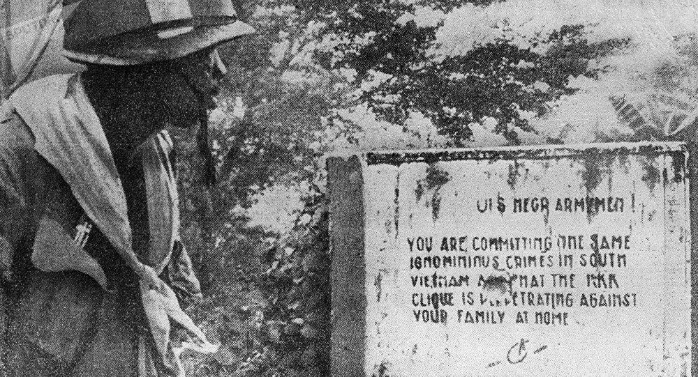 Soldat américain au Vietnam