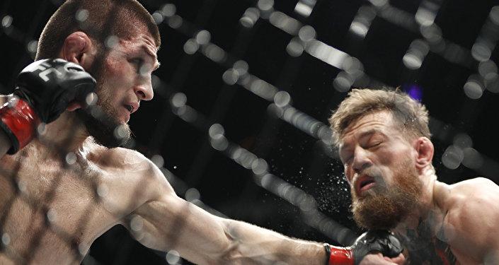 Le combat entre Khabib Nurmagomedov et Conor McGregor