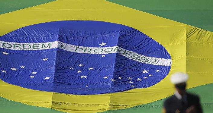 Le drapeau brésilien