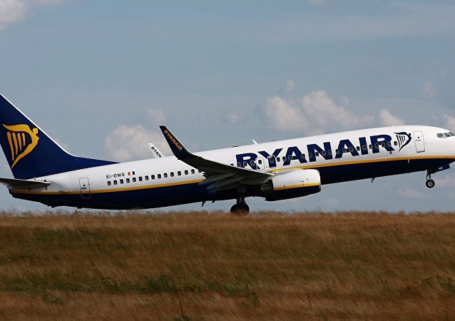 Un avion de Ryanair (image d'illustration)