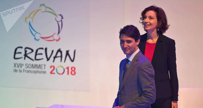Le XVIIe Sommet de la Francophonie à Erevan, en Arménie
