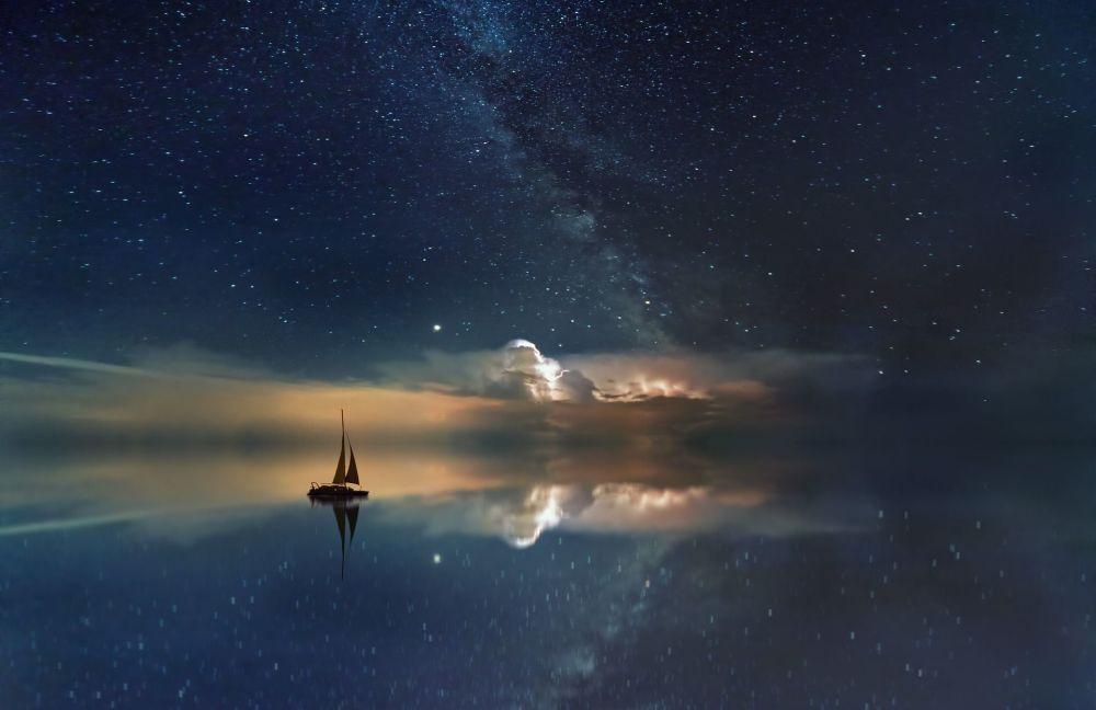 La Voie lactée visible à l'œil nu