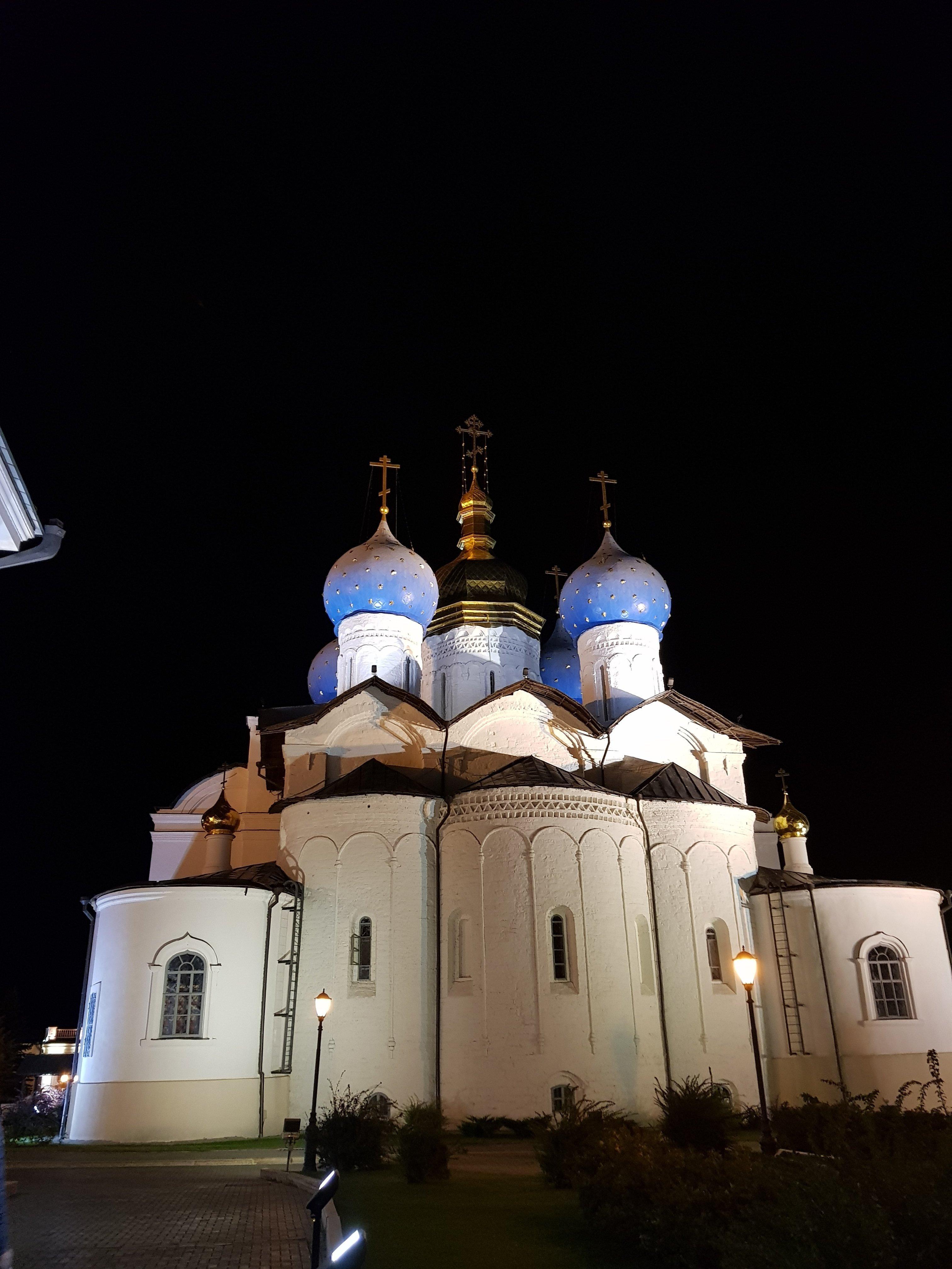 Au sein du Kremlin de Kazan