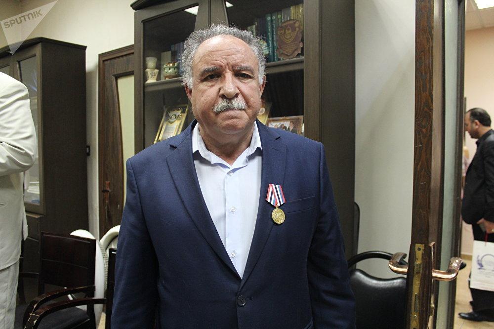 Dr. Khalaf al-Muftah, directeur général d'Al-Quds