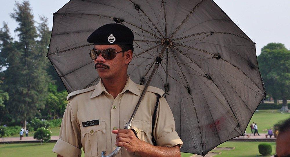 Un policier indien