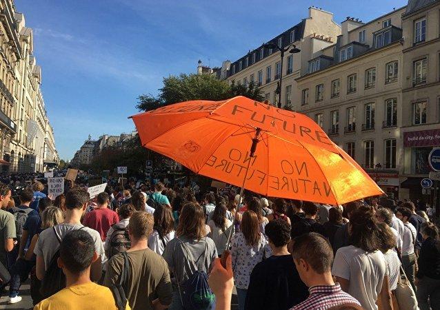 Marche pour le climat à Paris (13 octobre 2018)