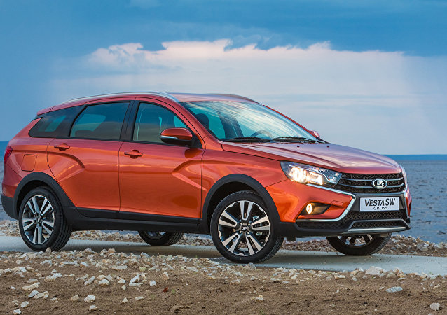 The new Lada Vesta SW Cross wagon by AvtoVAZ