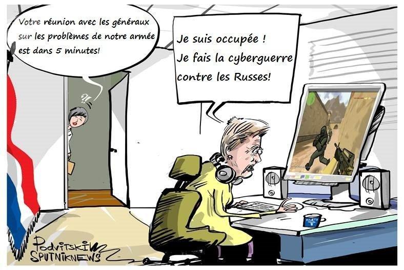Les Pays-Bas sont en état de cyberguerre  avec la Russie