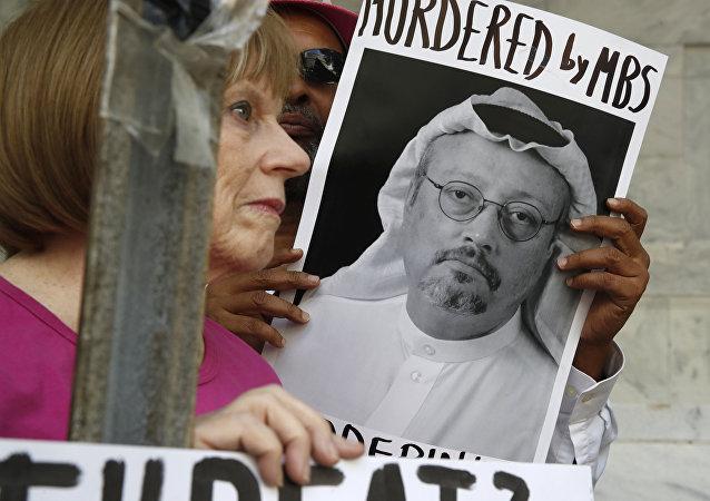 Un portrait de Jamal Khashoggi