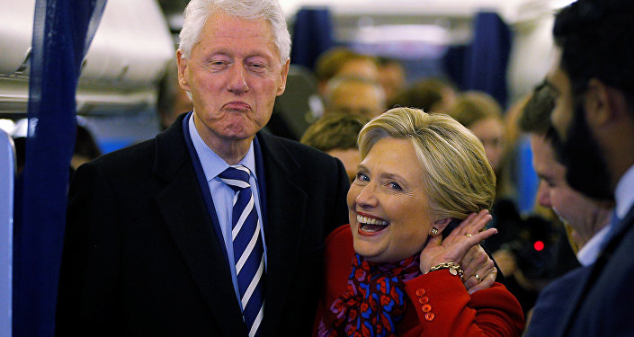 Hillary Clinton et Bill Clinton