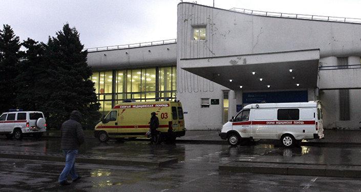 Ambulances. Photo d'archive
