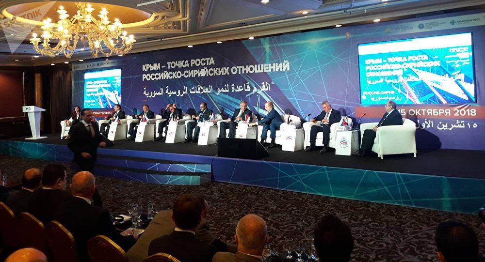 Un bon départ pour une coopération tous azimuts entre la Syrie et la Crimée