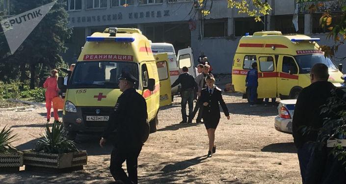 Une explosion dans un collège en Crimée