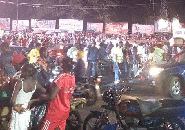 Douala dans l'attente des résultats de la présidentielle
