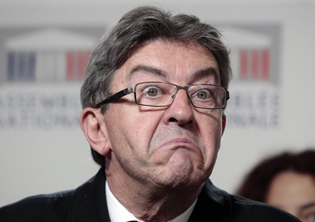 Jean-Luc Mélenchon. Photo d'archive