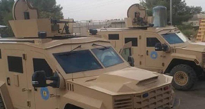 Des blindés envoyés à Manbij par les USA