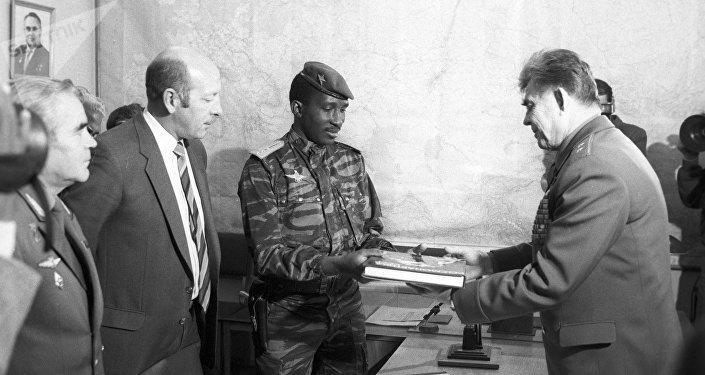 En mémoire de Thomas Sankara, le Che Guevara africain