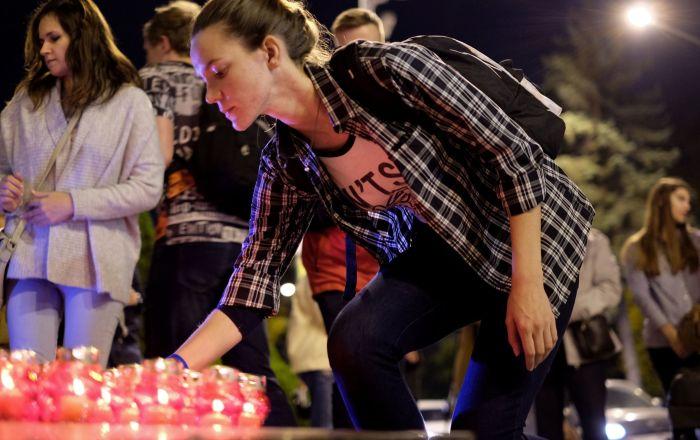 Actions en hommage aux victimes de la tragédie du lycée de Kertch