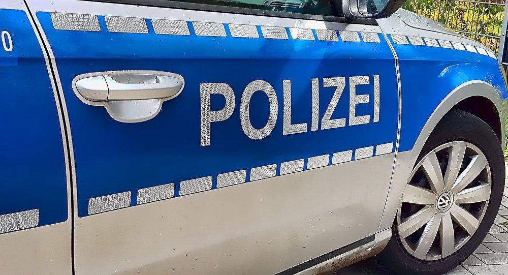 Voiture de police en Allemagne