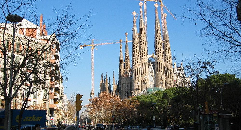 La Sagrada Familia (Barcelona)