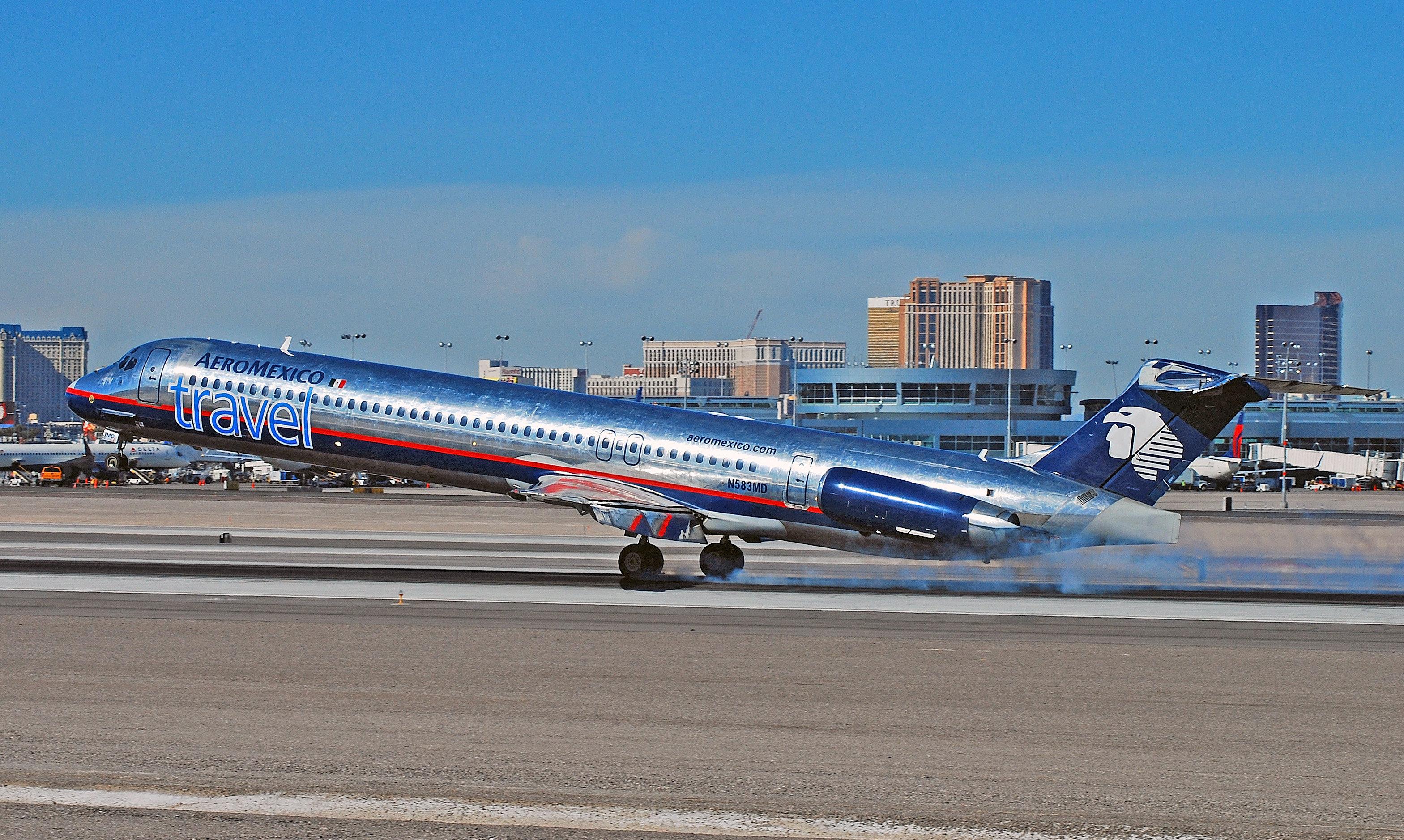 Un DC-9 d'Aeromexico
