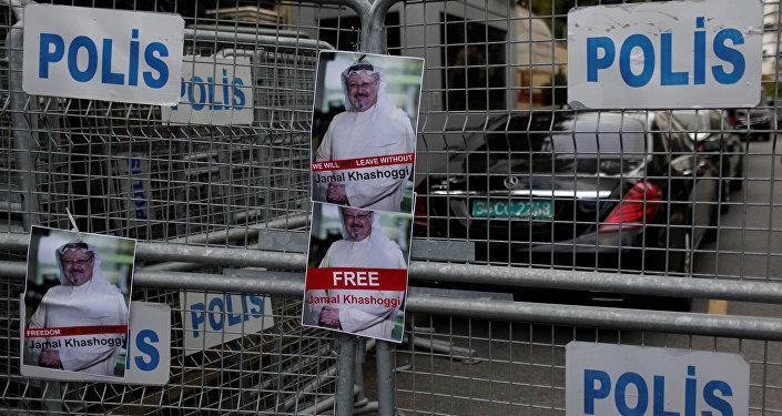 Images du journaliste saoudien Jamal Khashoggi à Istanbul