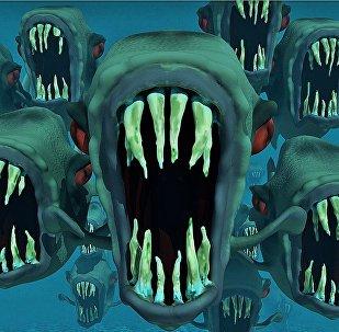 Des poissons qui font peur (image d'illustration)