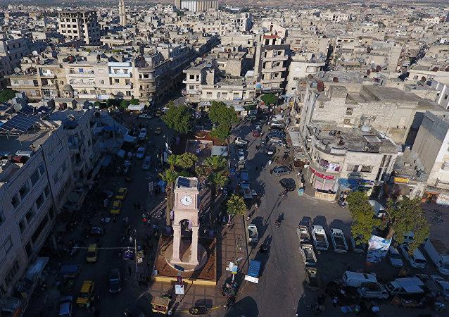 Idlib city, Syria