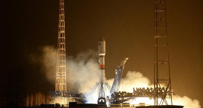 Le lanceur Soyouz-2.1b tiré depuis le cosmodrome de Plessetsk