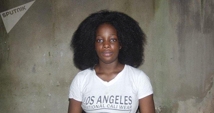 Prudence Kenembeni, à son retour à Yaoundé