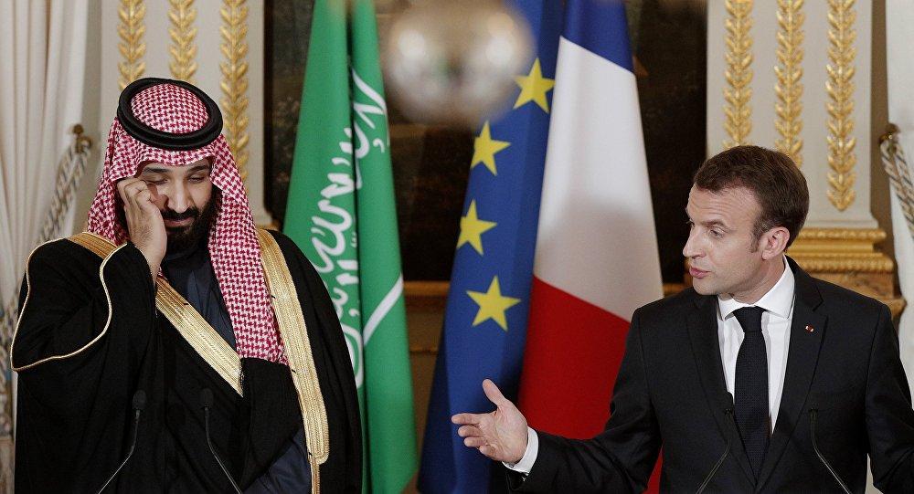 Emmanuel Macron et Mohammed ben Salmane