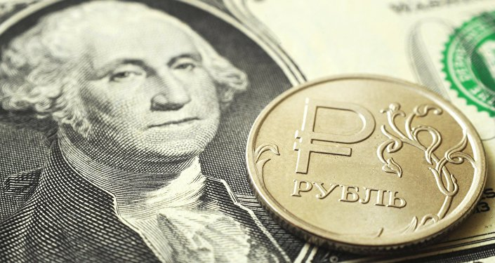 Rubel-Dollar (Symbolbild)