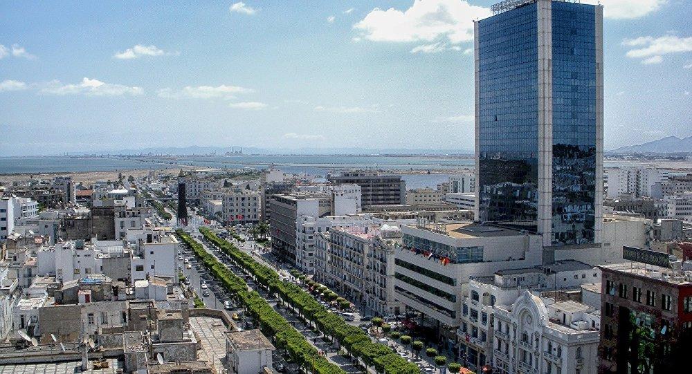Avenue Habib Bourguiba à Tunis