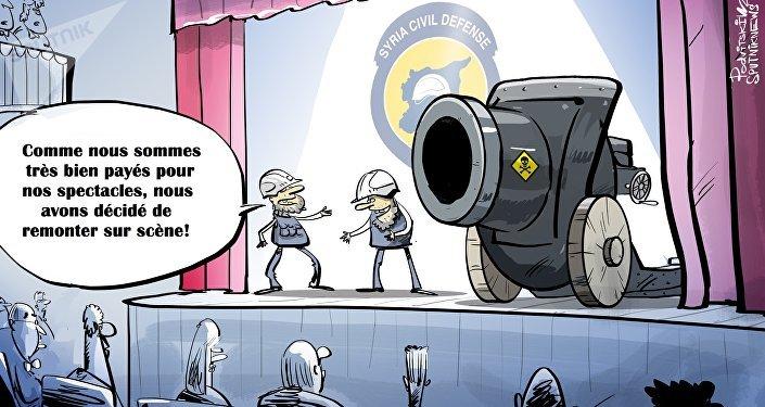 Les Casques blancs de retour sur la scène syrienne