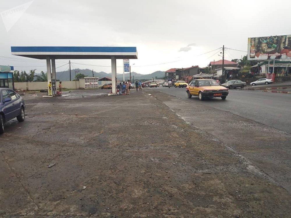 Le carrefour Mutenguene, point d'entrée de la région sécessionniste du Sud ouest