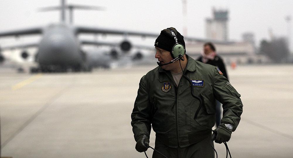 la base aérienne américaine de Ramstein